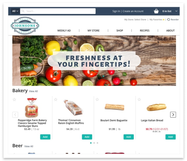 Johnson's Organic Grocer