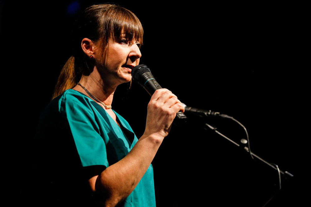 Damaris Meyer. Examinierte Krankenschwester