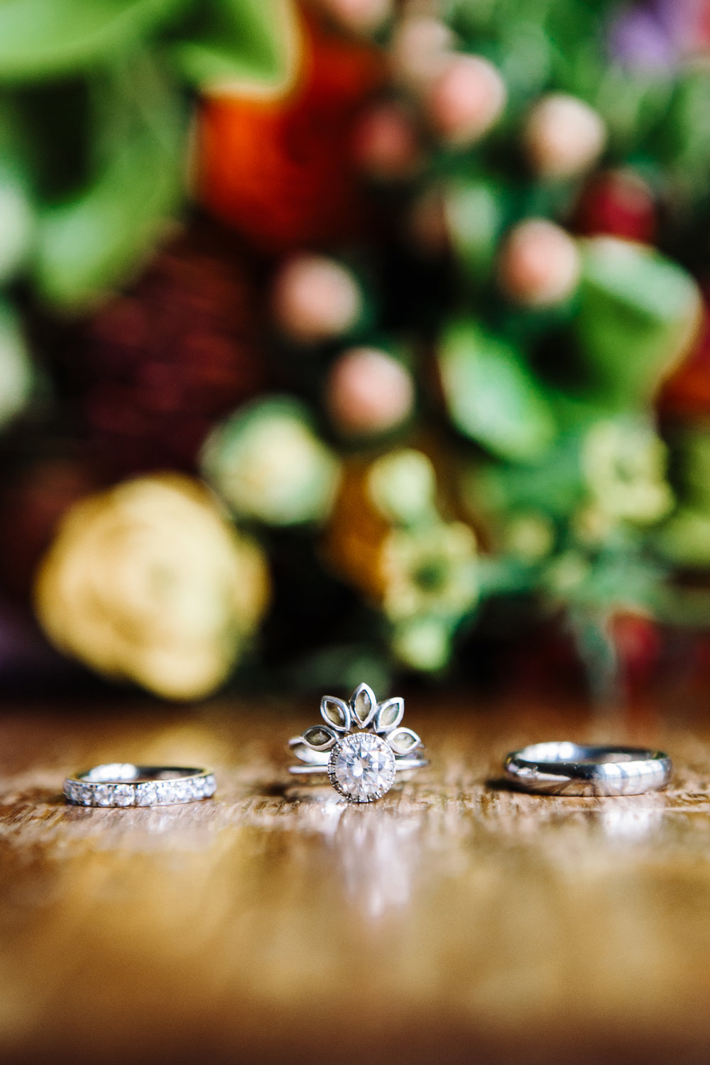 Ring and Flower Detail