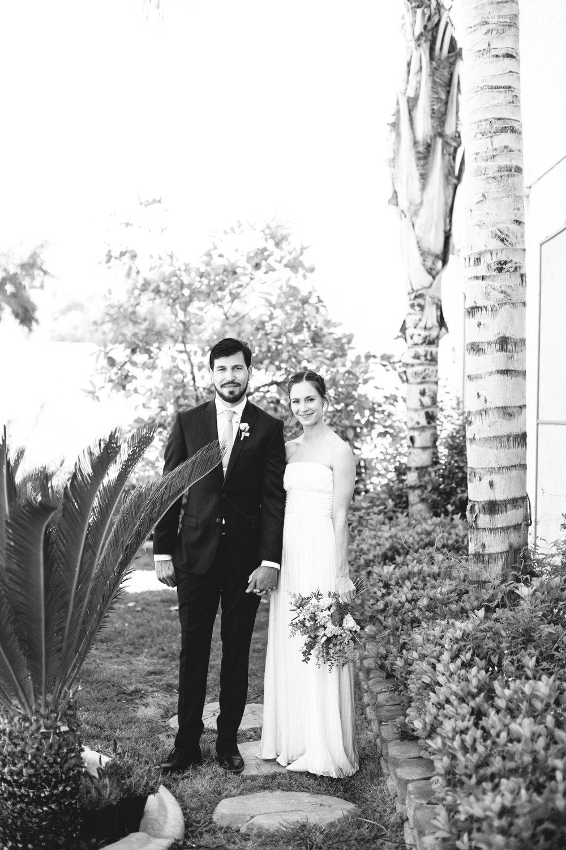 Las Vegas Backyard Wedding Portrait