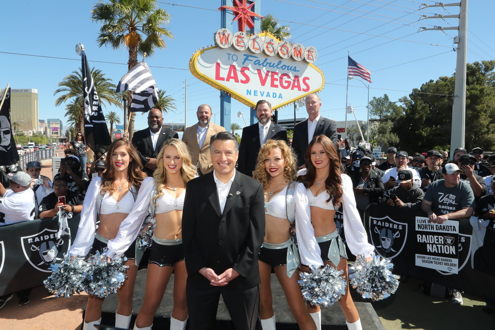 OAKLAND RAIDERS - The Oakland Raiders tapped CatalystCreativ as their official marketing transition team to build community for their move to Las Vegas.