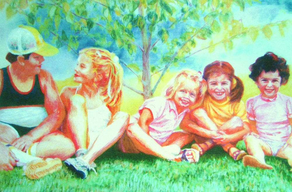 Friends  Pastel.JPG