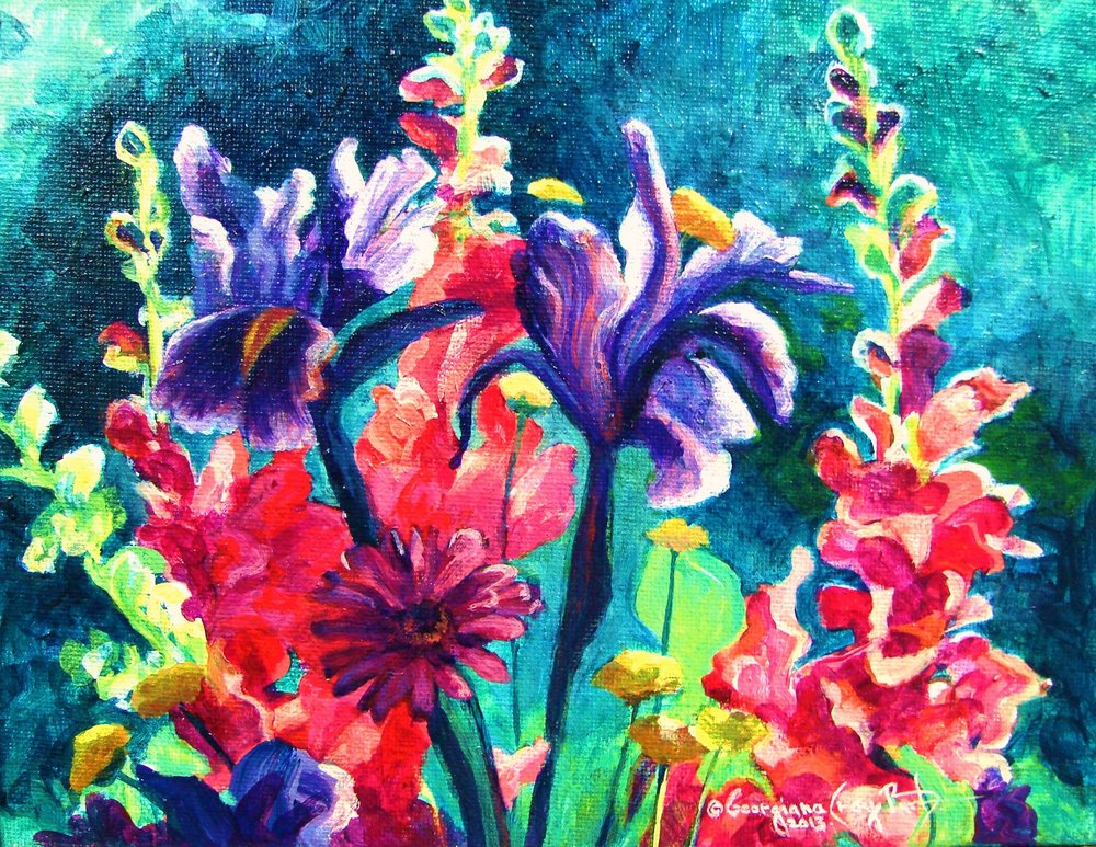 Mothers Day Flowers#7_acrylic_ 8 x 10_jpg..JPG