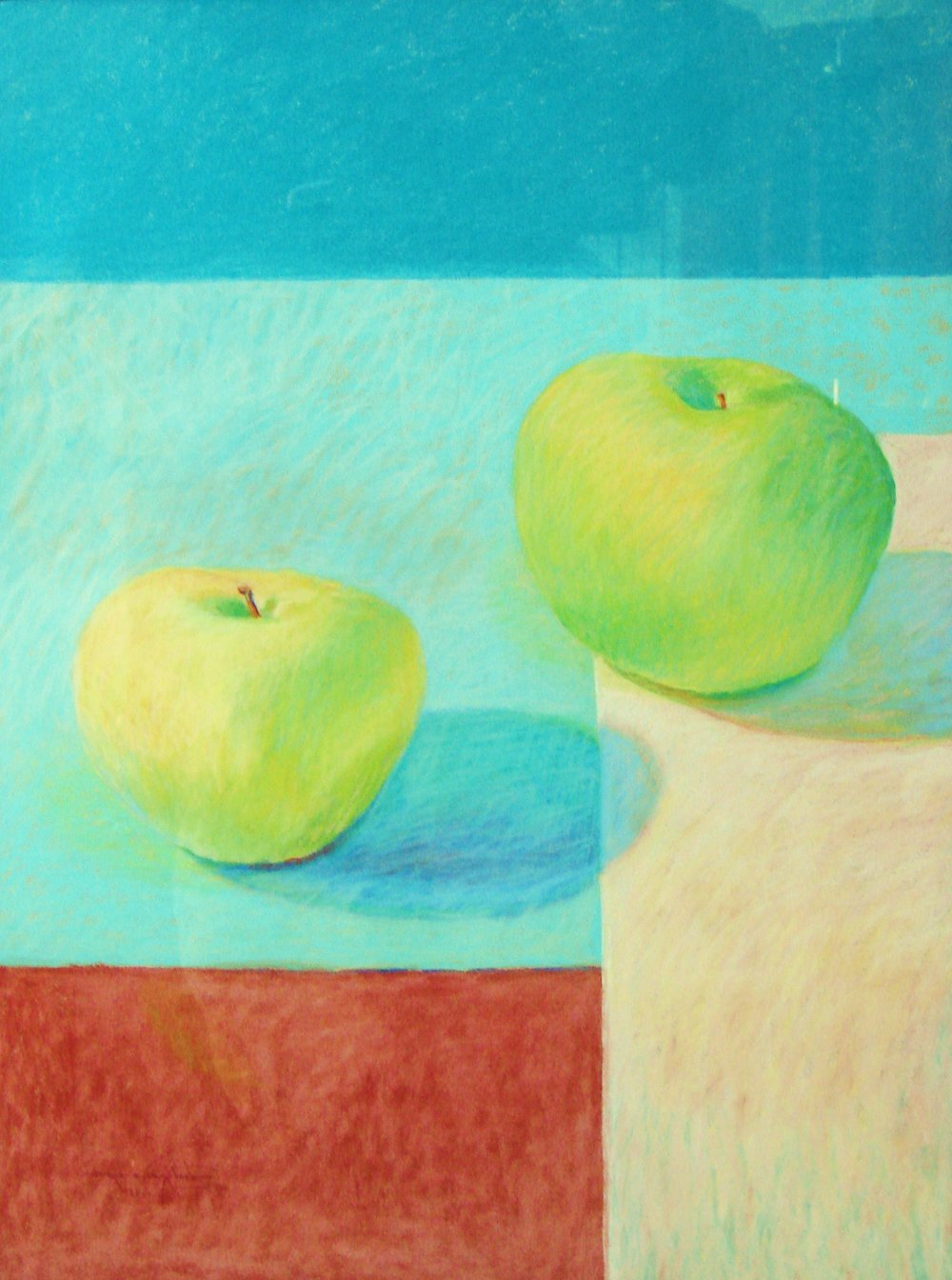 Granny Smith Big - Apart pastel 37x30.JPG