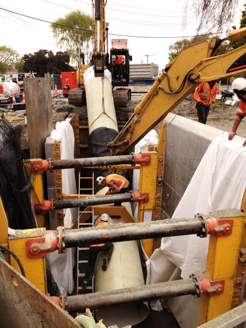 Christchurch Rebuild Drainage Project