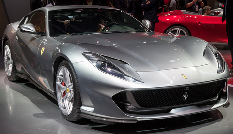 The achingly cool Ferrari 812 Superfast
