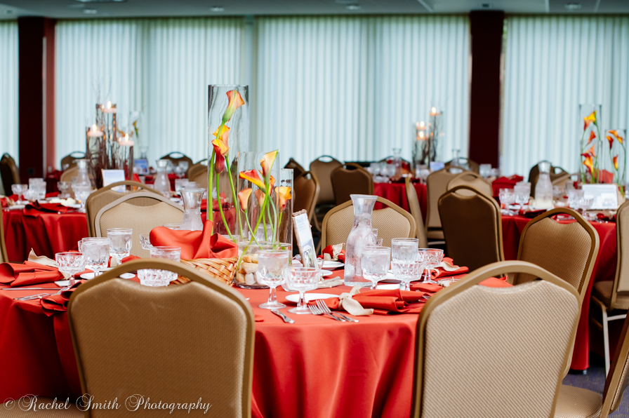Fall Wedding | Tables| hiking autumn theme decor by Innovative Party Planners at Chizuk Amuno