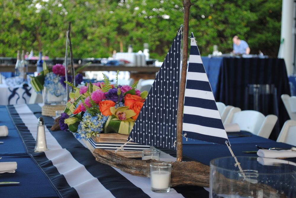 Sailing Away at the Regatta -