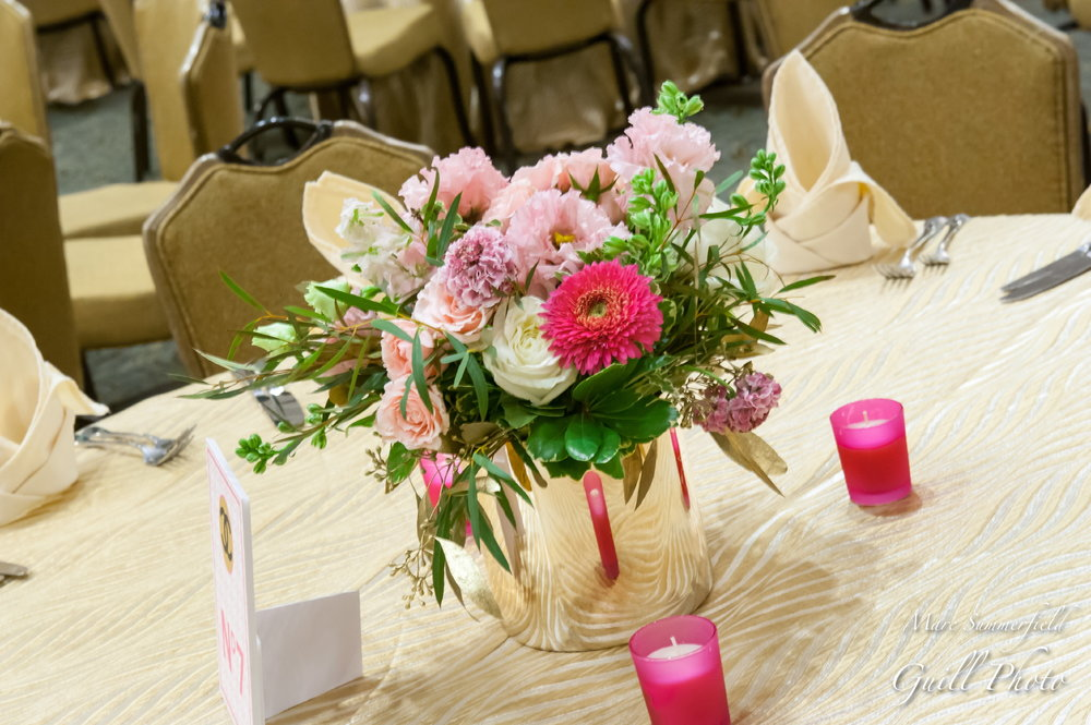 Club Chloe | Adult Centerpieces| Bat Mitzvah club theme decor by Innovative Party Planners at Lord Baltimore Hotel