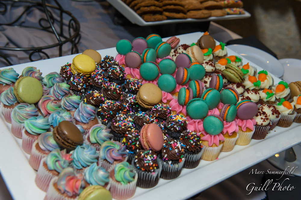 Club Chloe| Dessert Table | Bat Mitzvah club theme decor by Innovative Party Planners at Lord Baltimore Hotel
