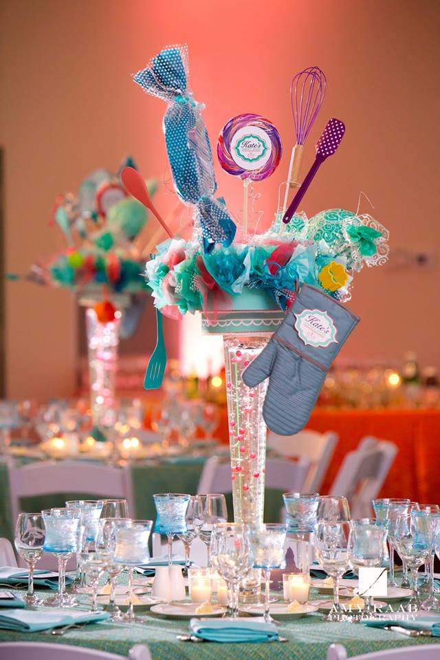 This celebration combines a passion for baking and a sweet tooth - Bat Mitzvah Celebration