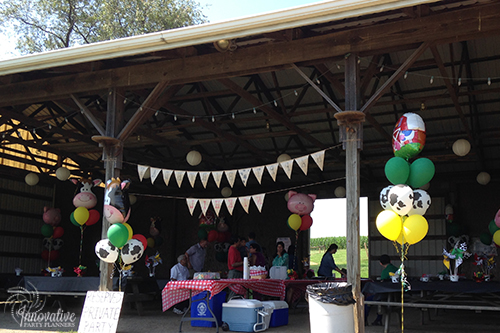 Children's Birthday | Farm Theme Entrance| Decor by Innovative Party Planners