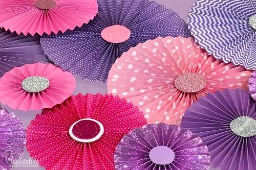 Sweet 16 | Decorative Fans| Decor by Innovative Party Planners