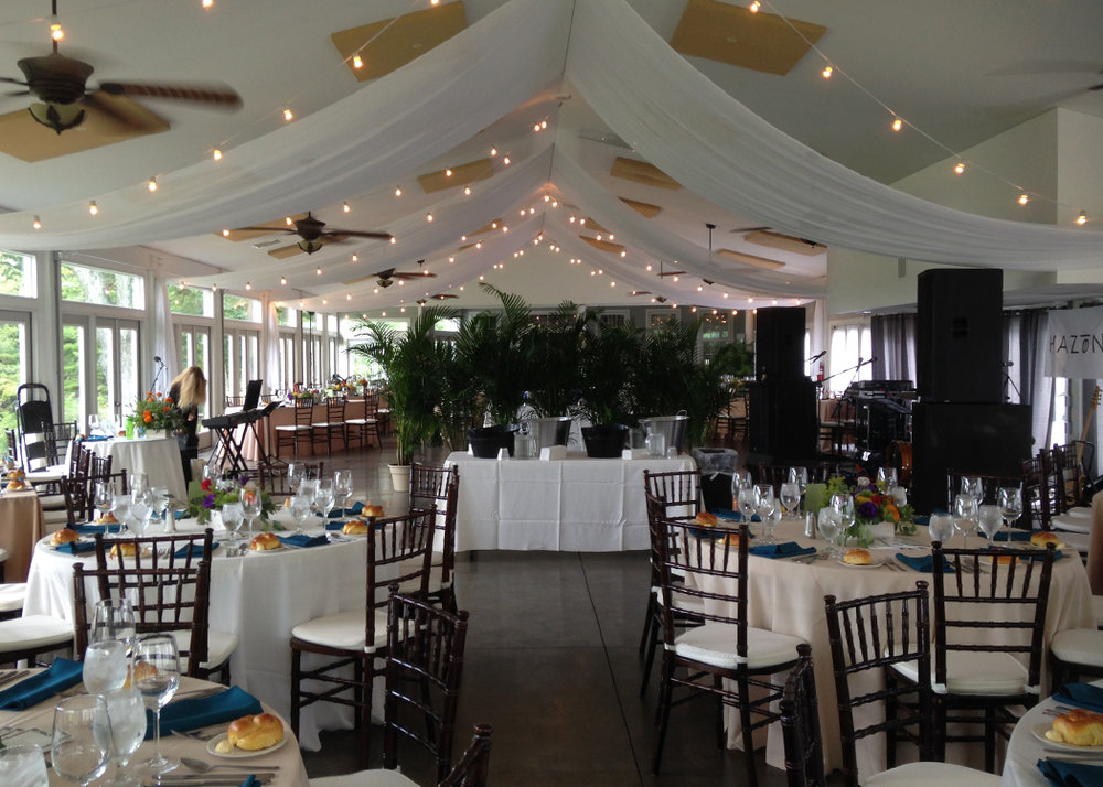 Wedding at Stock's Manor | Reception | decor by Innovative Party Planners