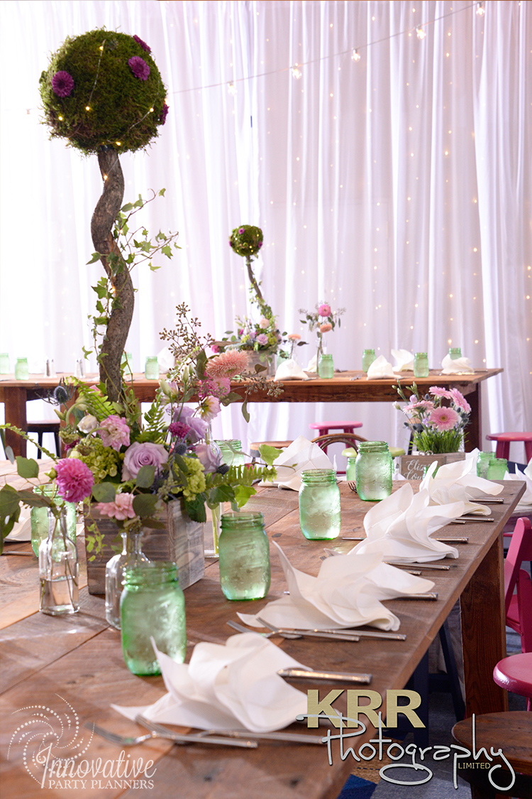 Check out how we transformed a hotel ballroom into a magical garden - Bat Mitzvah Celebration