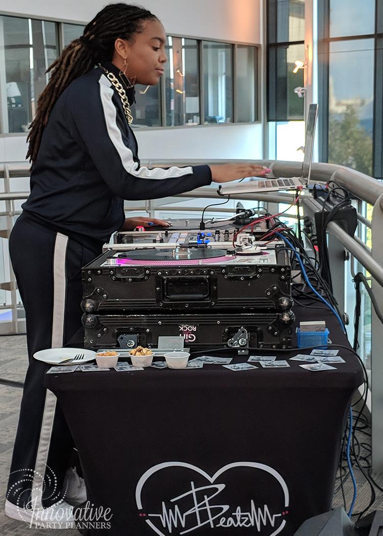 DJ Beauty and the Beatz_Hampden_SYTA Opening Reception_Visit Baltimore_8-24-18.jpg