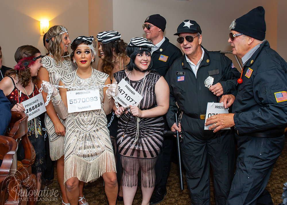 Fairwell to the Roaring Twenties | Speakeasy Raid by Innovative Party Planners