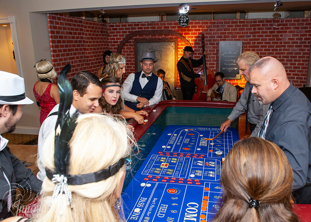 Fairwell to the Roaring Twenties | Speakeasy Casino by Innovative Party Planners