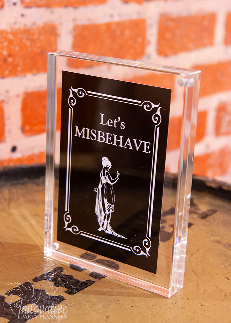 Fairwell to the Roaring Twenties | Let's Misbehave | 1920s sayings and quotes by Innovative Party Planners