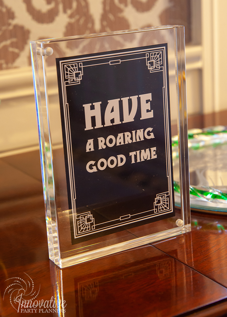 Fairwell to the Roaring Twenties | 1920s sayings and quotes | Design by Innovative Party Planners