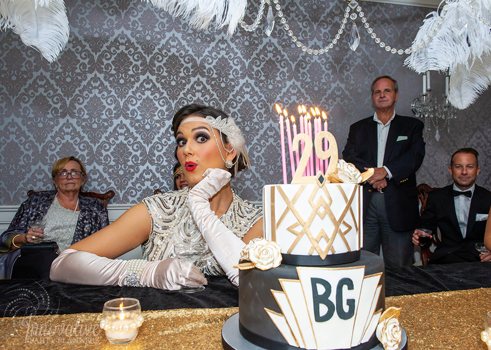 Fairwell to the Roaring Twenties | Happy 29th Birthday | by Innovative Party Planners