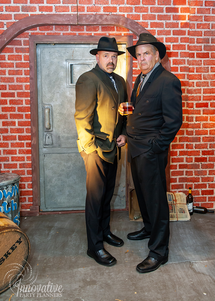 Fairwell to the Roaring Twenties | Gangster Actors by Innovative Party Planners