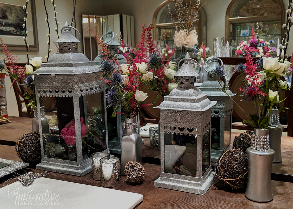 Thanksgiving 2018_Side Table Station in Dining Room.jpg