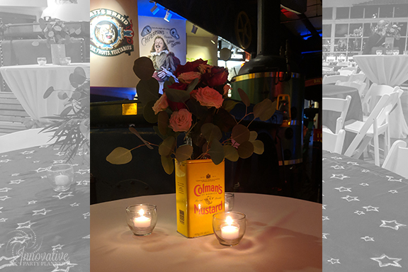 Guest Table Centerpieces 5_1940s Themed Decor_InnovativePartyPlanners2018.jpg