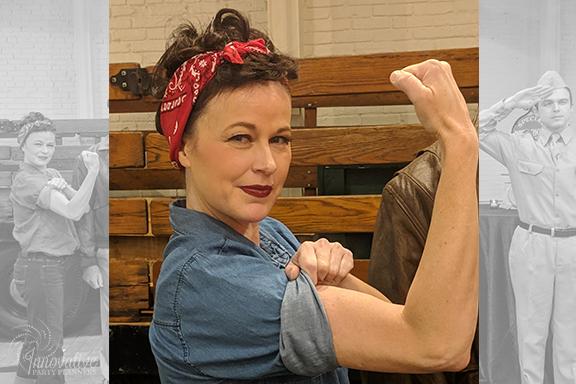 Rosie the Riveter_1940s Themed Decor_InnovativePartyPlanners2018.jpg
