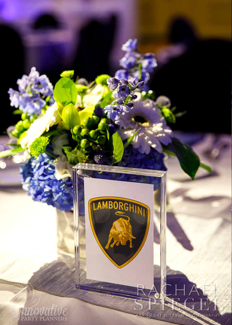 Flower Centerpieces and Table Name_3_Luxury Cars_Berlin_Annapolis_by Innovative Party Planners.jpg
