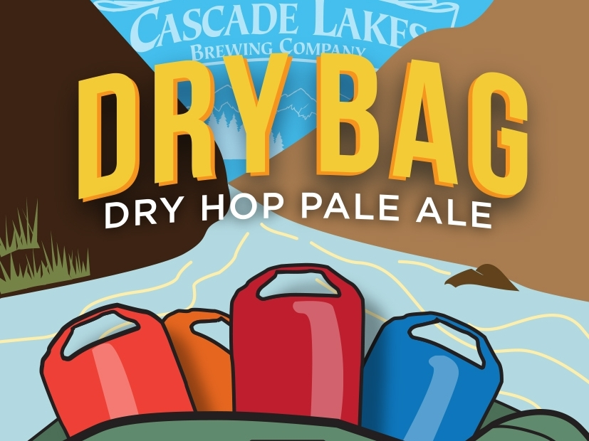 Cascade Lakes Releases Dry Bag Pale Ale - 04/09/18- On Friday, April 6th 2018, Cascade Lakes Brewing Company released Dry Bag Dry Hop Pale Ale as part of a region wide beer naming effort honoring the Wild and Scenic Rivers Act 50th Anniversary.Dry Bag is a hazy, juicy, dry hopped pale ale. It will be available on tap at the Cascade Lakes Brewpub in Bend during the month of April.