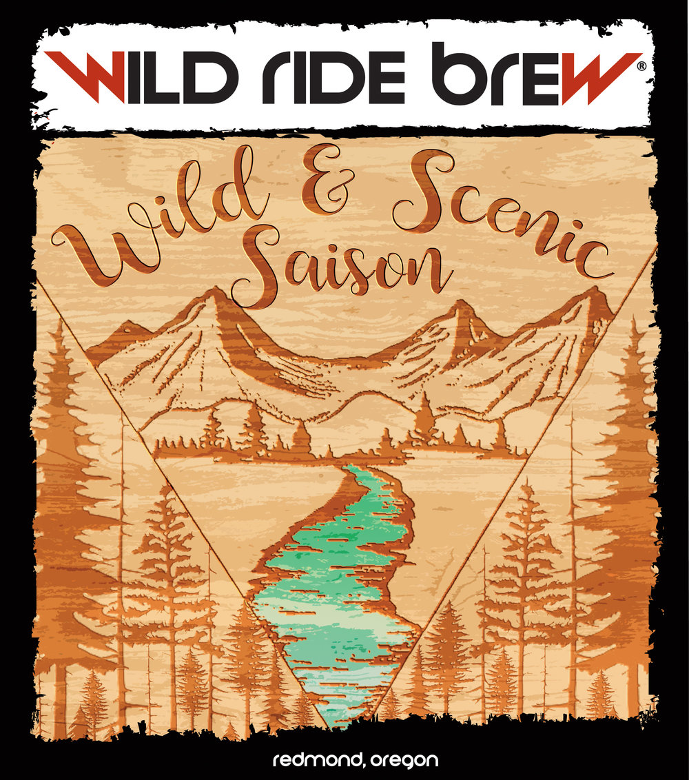 Wild Ride Brewery Releases Wild & Scenic Saison - 5/21/2018 - Wild Ride Brewery will release Wild and Scenic Saison on Tuesday, May 22nd as part of a region wide beer naming effort honoring the 50th Anniversary of the Wild and Scenic Rivers Act.Wild and Scenic Saison (IBU: 10 | ABV 4.6%) is a modification of a classic Belgian style beer, but with a deeper amber color. Notes of dark cherry and biscuit help to make this beer approachable, while allowing the yeast character to blend the flavors together.You can be among the first to try this brew at the Wild and Scenic Saison Release Party from 6 – 8 PM at the Wild Ride Tap Room. A portion of the proceeds from this event will benefit Discover Your Forest. Free admission and all ages are welcome.