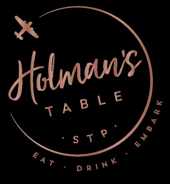Modern Fare & Classic Bar | Holman's Table