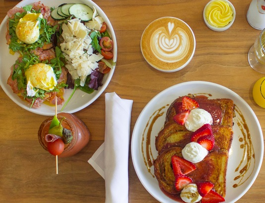 Sugar and Scribe serves up breakfast and lunch all day