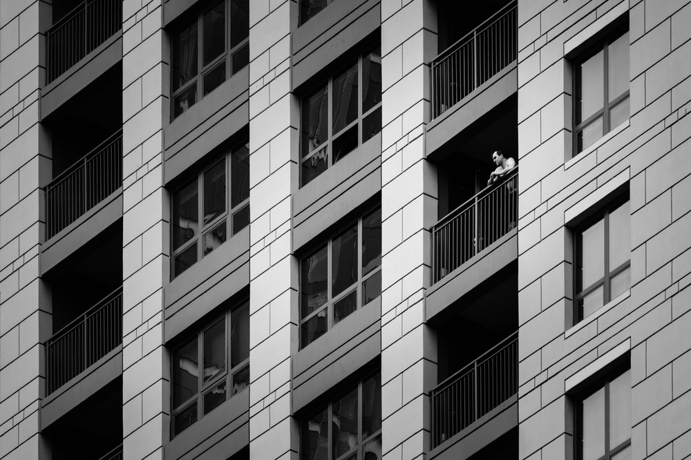 Kirsten Fenton  Balcony Man   Loop