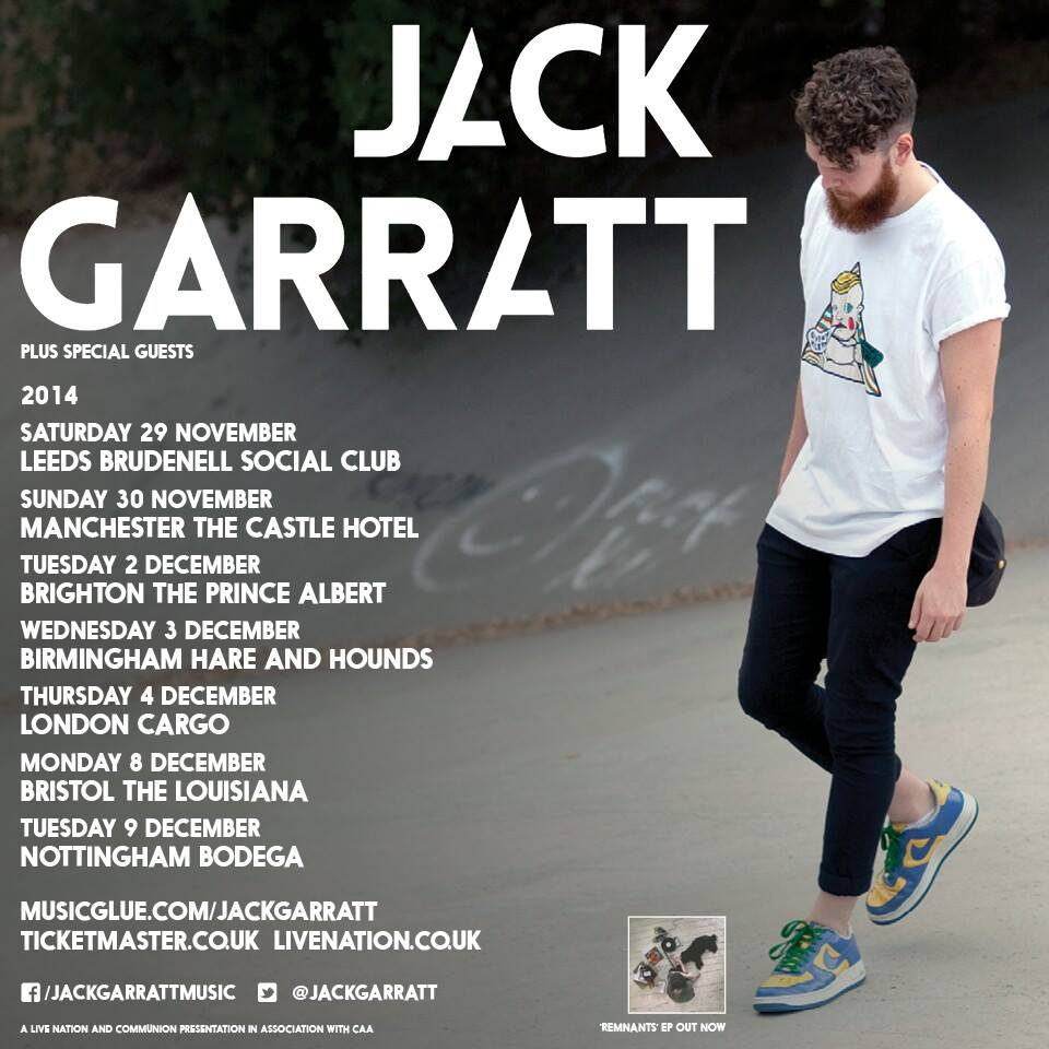 JACK GARRATT  tour poster