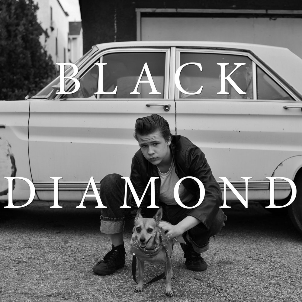 YOUNG WAR  Black Diamond album cover