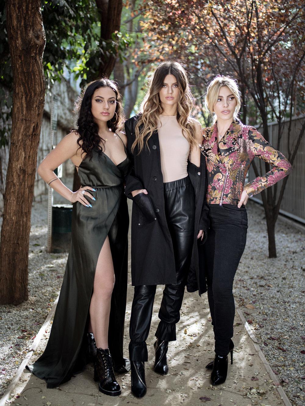 Inanna Sarkis, Lele Pons, Hannah Stocking  Internet Personalities for WWD Magazine