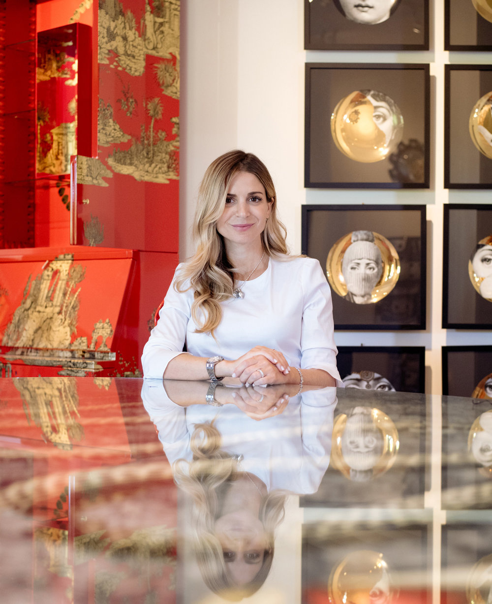 MERYL HADIDA  L'Eclaireur owner for WWD Magazine