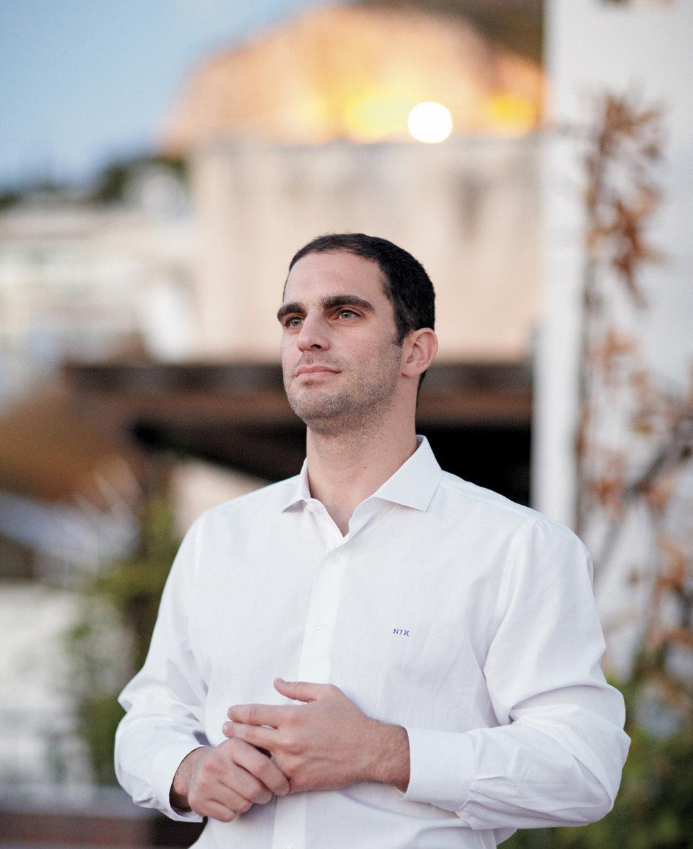 NIKOS KAKAVOULIS  CEO Daily Secret for BOAT Magazine