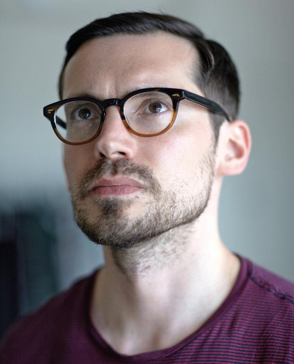 ERDEM  Fashion Designer at his studio in London, England for Whitewall Magazine