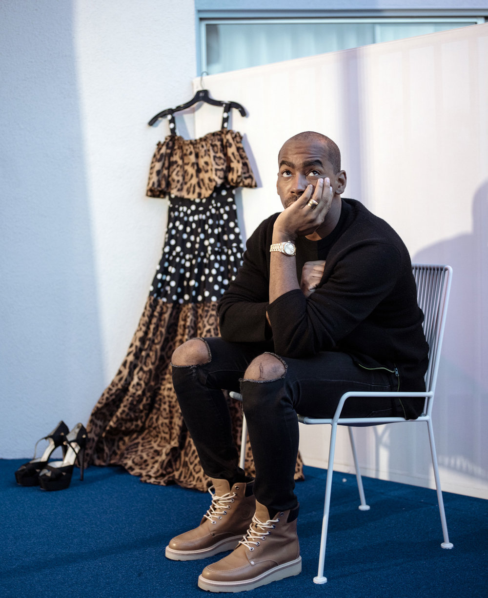 JASON BOLDEN  Stylist at The Standard Hotel, Los Angeles for Footwear News