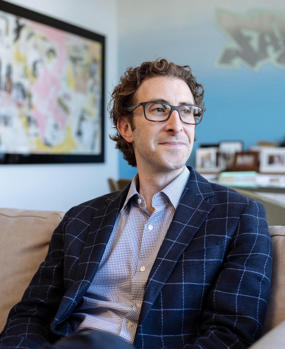 ADAM GOLDENBERG  TechStyle CEO for WWD Magazine