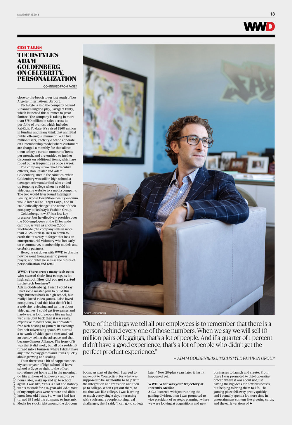 Adam Goldenberg  WWD