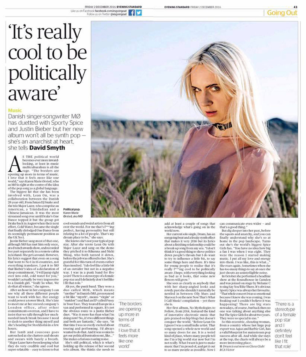 MO  Evening Standard