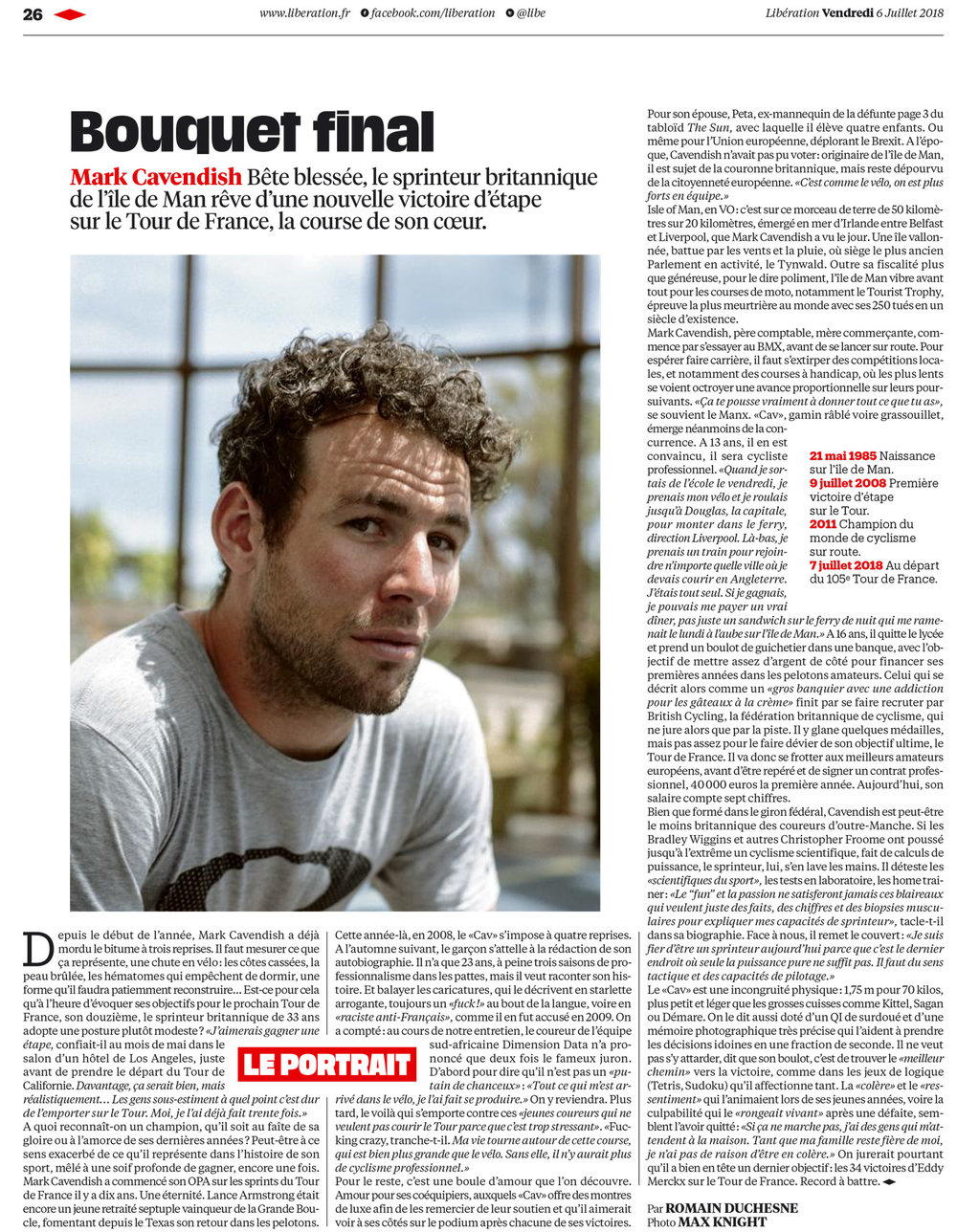Mark Cavendish  Liberation (Fr)