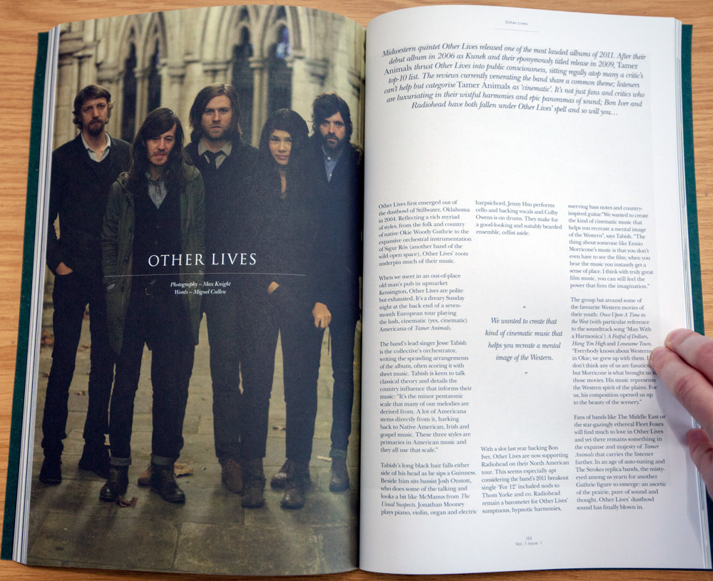 Other Lives  So It Goes Magazine