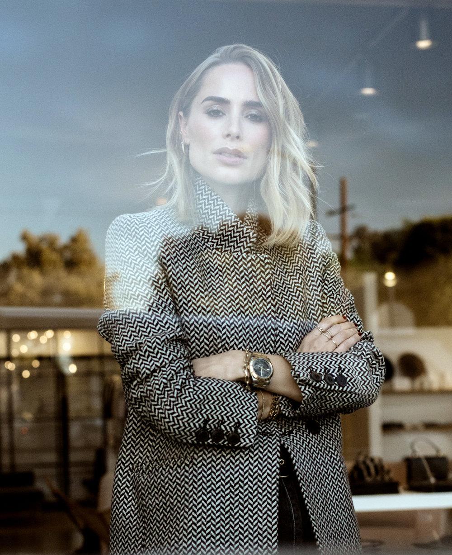 Anine Bing - Designer in her Beverly Hills store