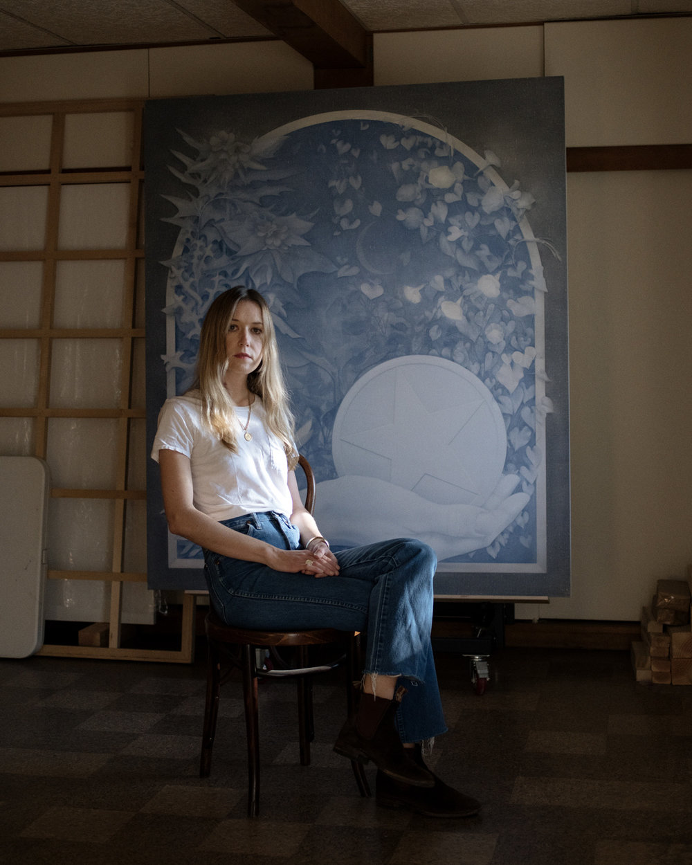 THEODORA ALLEN  Painter for Elephant Magazine