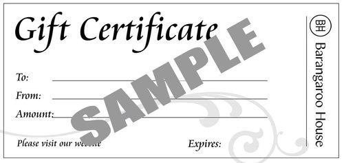 Gift certificate barangaroo house gift certificate sampleg negle Choice Image